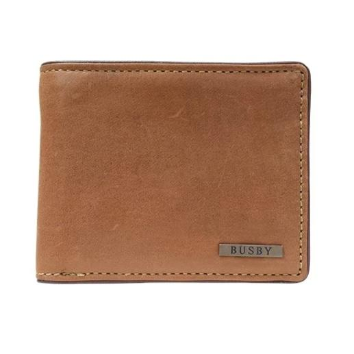 Busby Leather Zulu Billfold | Brown