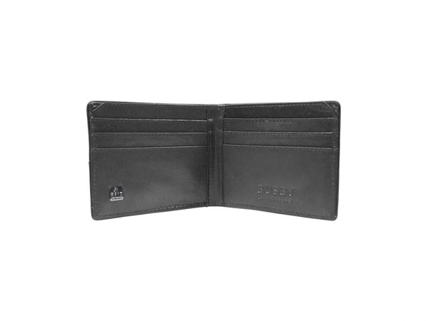 Busby Leather Zulu card Wallet | Black