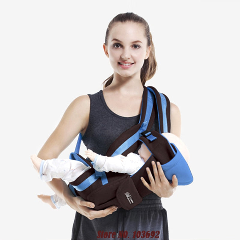894a628fd30 Beth Bear 0-30 Months Breathable Front Facing Baby Carrier 4 in 1 Infant  Sling