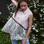 Blouse DAISY-GREEN