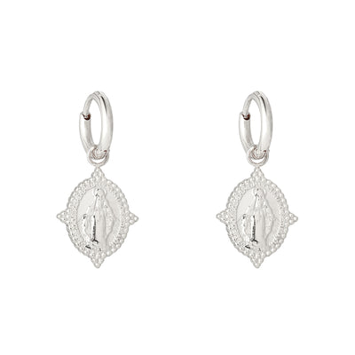 Neo Madonna Hoops Silber