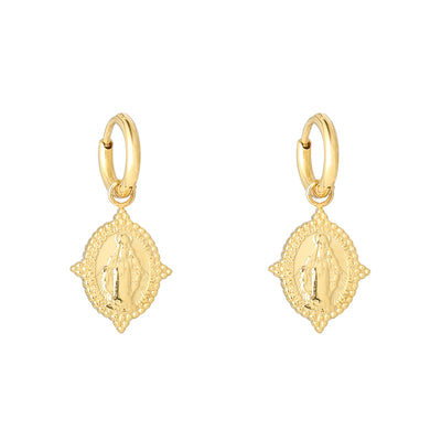 Neo Madonna Hoops Gold