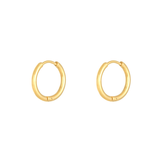 Large Hoop Gold
