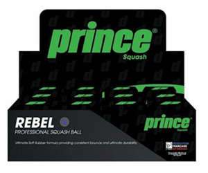 Prince Blue Dot Rebel Squash Ball