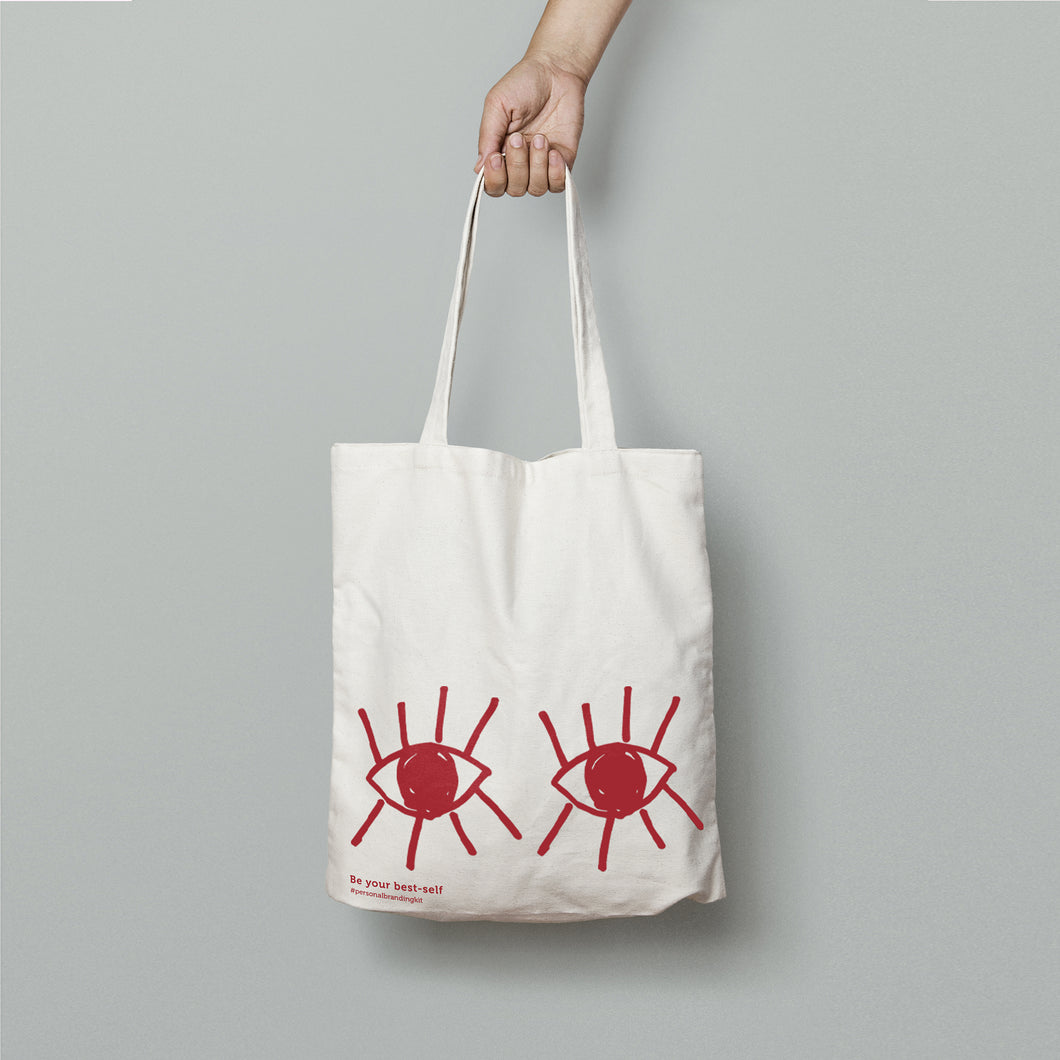 Shopping Bag - Occhi