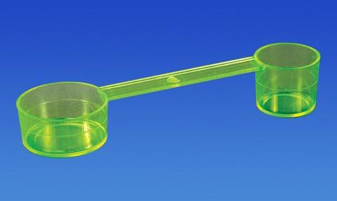 PAL1525 - Double-Sided Measuring Scoop, Large Scoop 1 3/4in. / Small Scoop 3/4in.