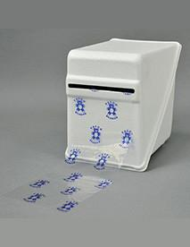 PAL1855 - White Poly Dispenser for 4in. x 6in. Barrier Film