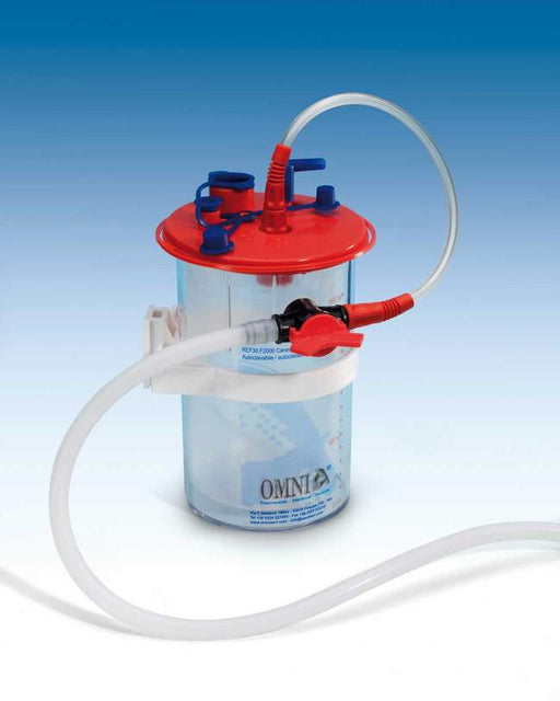 30.F2000.00 - Body Fluid Collection Canister w/ Disposable Bag & Connection Tubing