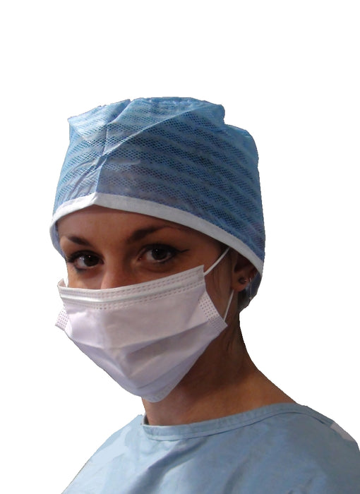 30.M1309.00 - 3 Layer Procedure Mask w/ Non-irritating Elastic Ear Loops, Purple