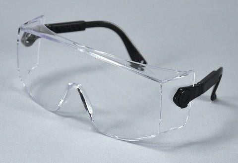 PAL3602 - ProVision® Overshield™ Eyewear, Black Frame, Clear Lens