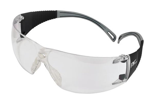 PAL3609GC - ProVision® Flexiwrap™, Black Frames / Gray Tips, Clear Lens