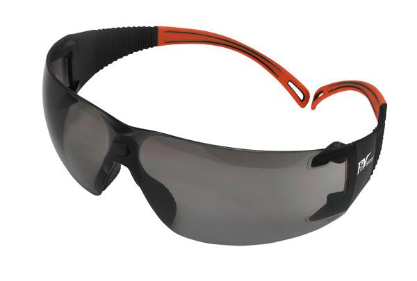 PAL3609OG - ProVision® Flexiwrap™, Black Frames / Orange Tips, Gray Lens