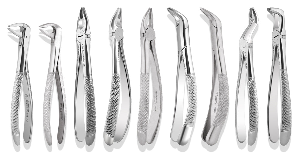 APICAL9 - Complete Set of 9 Apical Retention Forceps