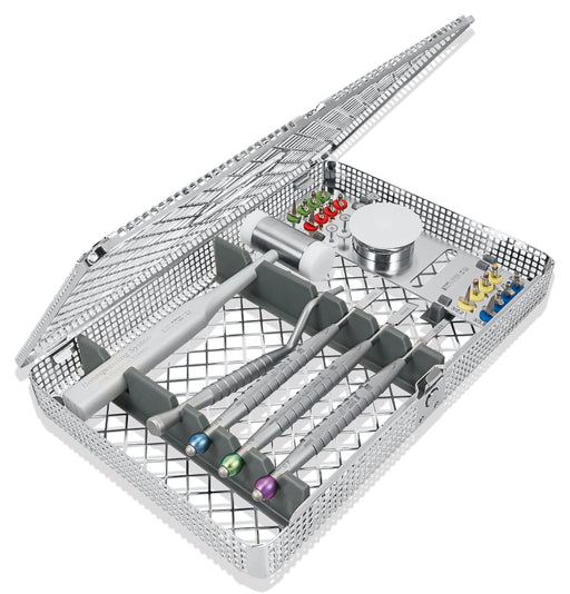 BSS0995 - Wedge Bone Splitting Set, Tray, 3 Chisels, Mallet, Inserter, 4 Diamond Discs, 16 Wedges