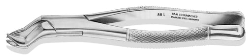 EXF0088L - Nevius Upper Molar Forceps #88L, Bayonet w/ Large Left Cowhorn