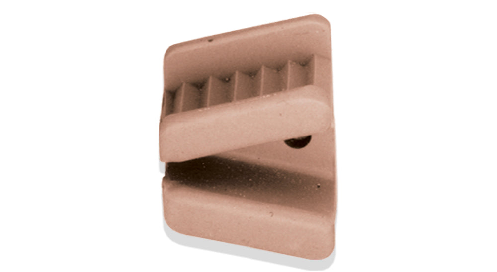 MOP0000M - Silicone Bite Block, Medium (32.5mm Max), (2 Pcs), 3.25cm