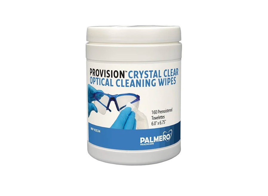 PAL3534 - ProVision® Crystal Clear Optical Cleaning Wipes, 160/ct