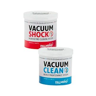 PAL3547S - E-VAC System Kit, 1 jar Vacuum Shock & 1 jar Vacuum Clean