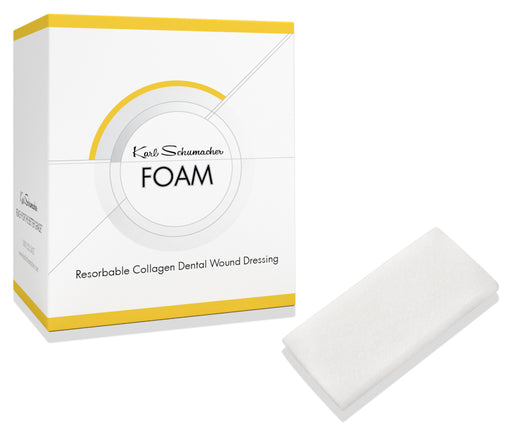 RCWF0001 - Foam - Collagen Wound Dressing 2cm x 4cm x 3mm, 10/Box