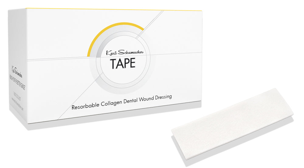 RCWT0001 - Tape - Collagen Wound Dressing 2.5cm x 7.5cm x 1mm, 10/Box