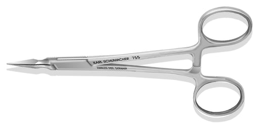 ROF0755 - Stieglitz Root Forceps #755, Tapered Tips, Straight, 14cm