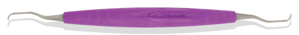 SCA0250TI - Titanium Gracey Curette #250TI, Specific, Purple Bionik Handle (Gracey 11LM/12LM)