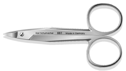 SCI0881 - Pedo Crown Scissors #881, Heavy Curve, 9cm