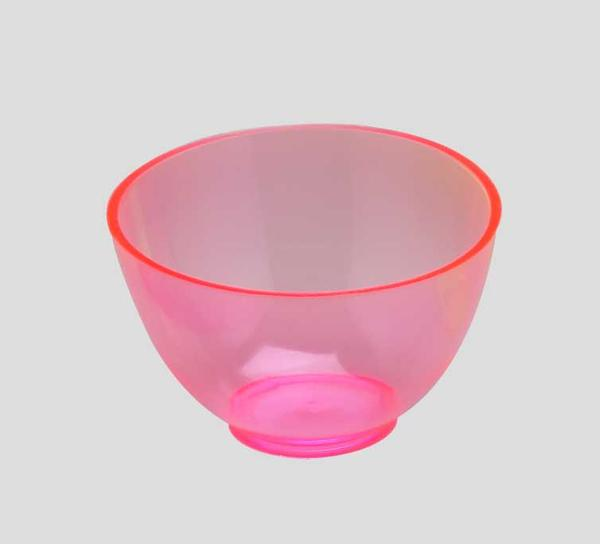 PAL1530BP - Candeez Flexible Mixing Bowl, Medium, 4in. X 2 1/2in. / 350cc, Bubblegum Scented, Pink