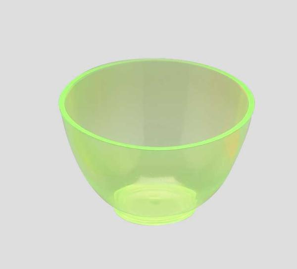 PAL1530LG - Candeez Flexible Mixing Bowl, Medium, 4in. X 2 1/2in. / 350cc, Lime Scented, Green