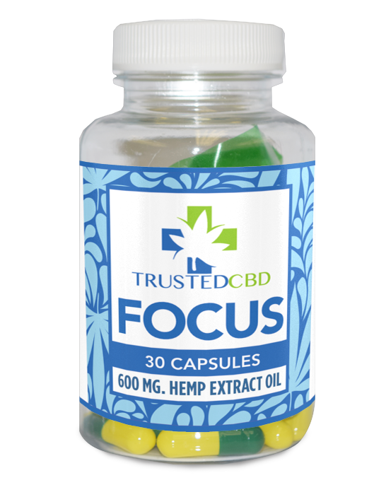 CBD Focus Oil for ADHD and mental sharpness