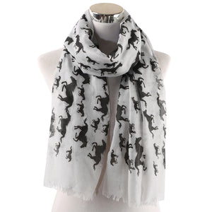 Beautiful Scarf For Horse Lovers