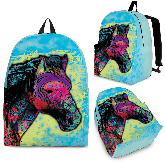 Tribal Horse Backpack