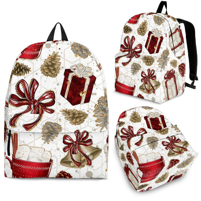 Gifts and Bells Christmas Backpack
