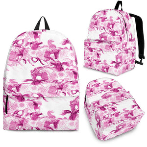 Running Pink Backpack