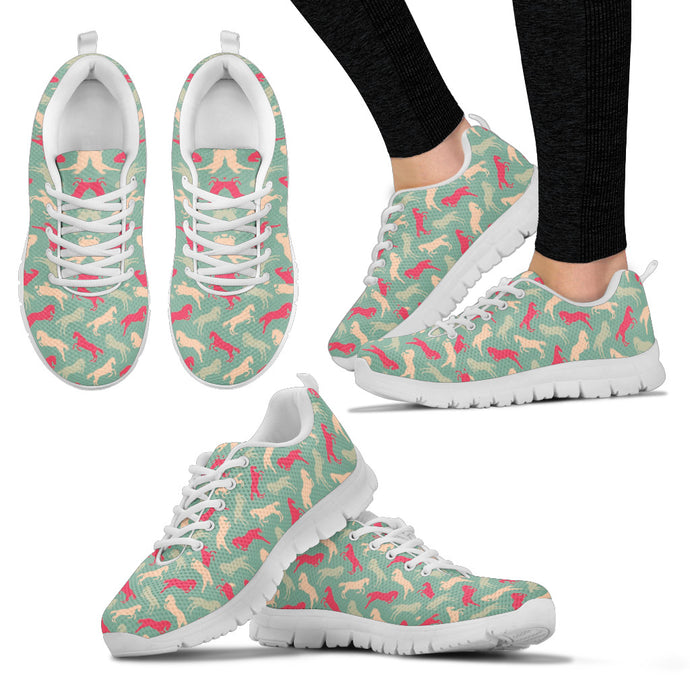 Galloping Colorful Horses Women's Sneakers