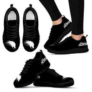 Love Horse - Black Women's Sneakers