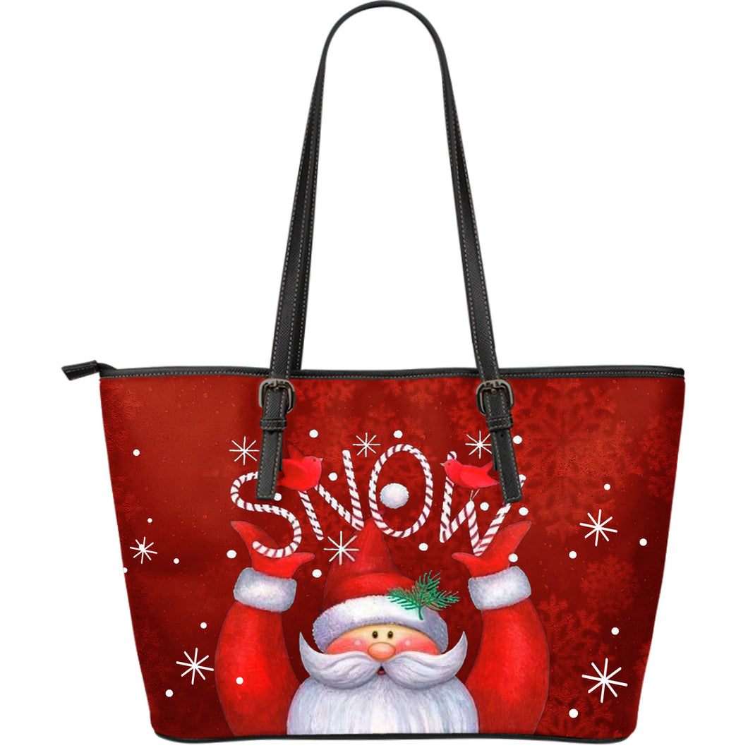 Snow Man Christmas Tote Bag