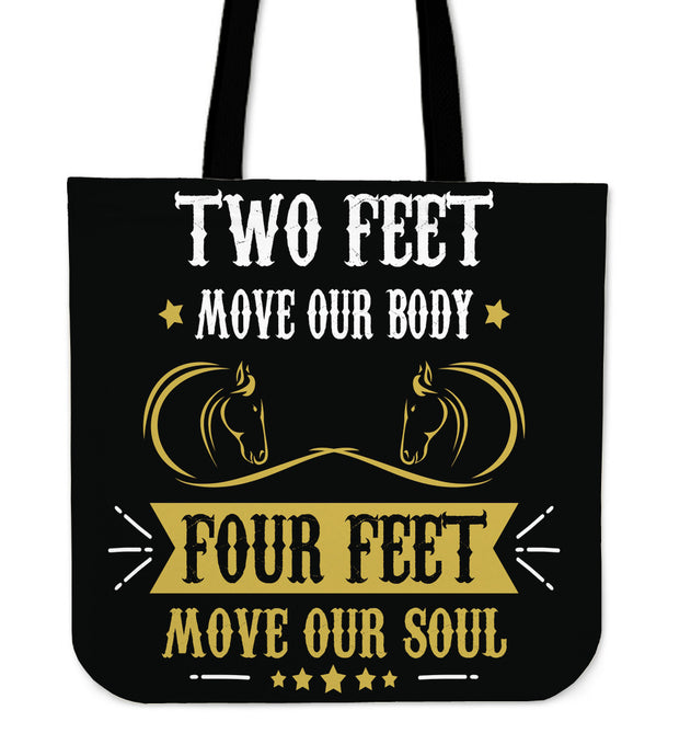 Move Our Body, Move Our Soul Tote Bag