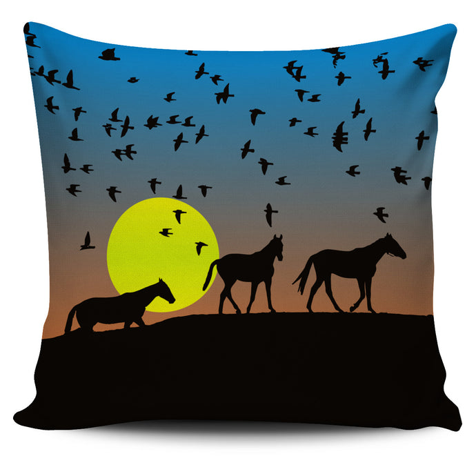 When Sunset Comes Pillow Cover