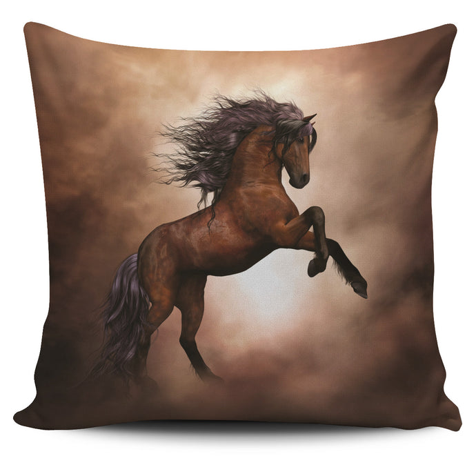 Wild Horse Pillow Cover