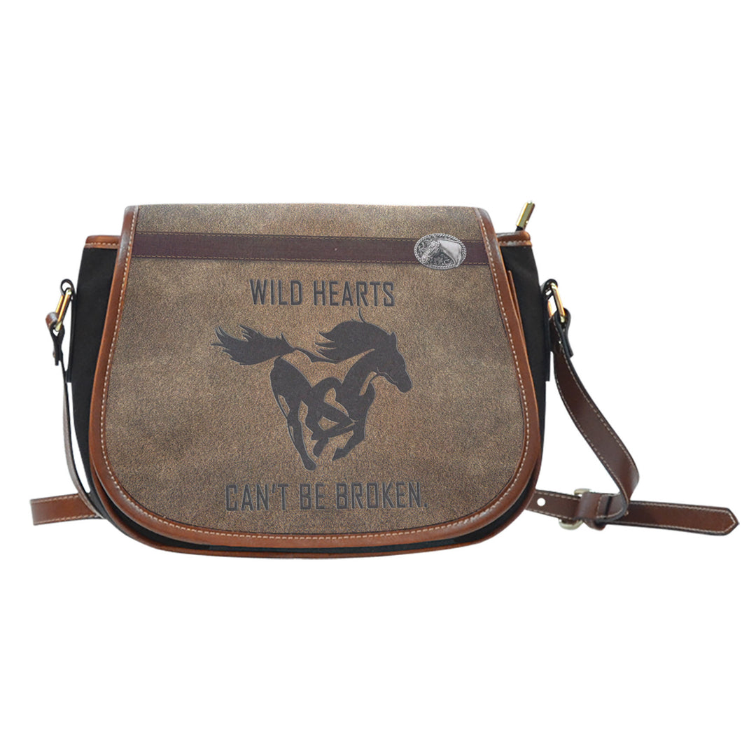 Wild Hearts Can't Be Broken Saddle Bags