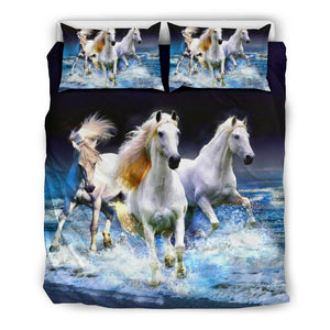 Sea Runners Bedding Set