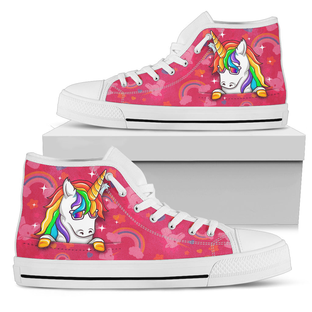 Let's Rock Women's High Top Shoes