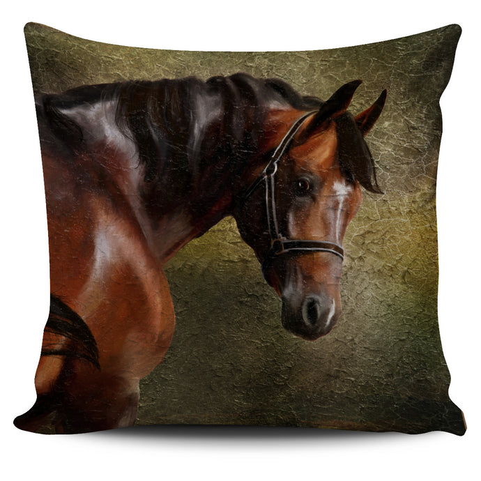 Beautiful Chestnut Horse Pillow Cover