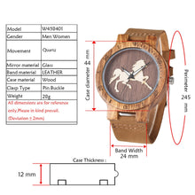 Running Horse Men Wristwatch