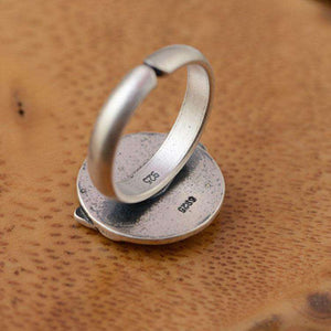925 Silver Journey Home Ring - American Horse