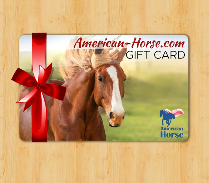 American Horse Gift Card