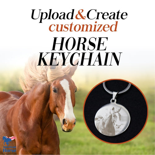 Customized Photo Keychain / Necklace - Upload & Create
