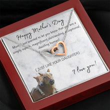 Just Like Your Daughter - Mother's Day Premium Interlocked Necklace