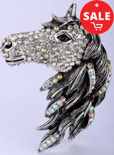 Crystal Horse Ring